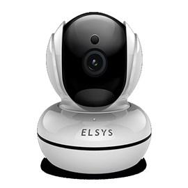Câmera De Segurança HD Fixa Wi-Fi C/ Inteligencia Elsys