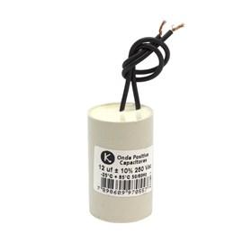 Capacitor Permanente 12.0UF 250VAC Onda Positiva