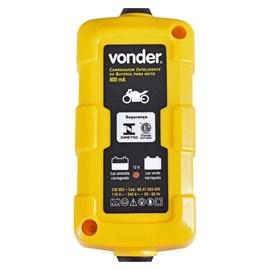 Carregador de Bateria para Motos CIB003 Bivolt Vonder