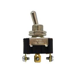 Chave 14103 Interruptor Alavanca Unipolar Reversora 15A 3 Posições Fixa Margirius