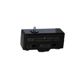 Chave de Fim de Curso FM1300 1NA+1NF com Atuador de Pino Metaltex