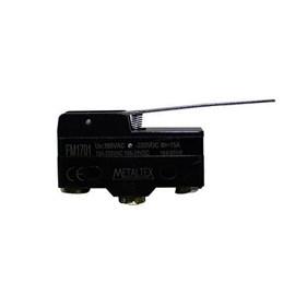 Chave de Fim de Curso FM1701 1NA+1NF com Alavanca Metaltex