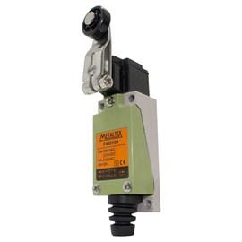 Chave de Fim de Curso FM8104 1NA+1NF com Rolete Metaltex
