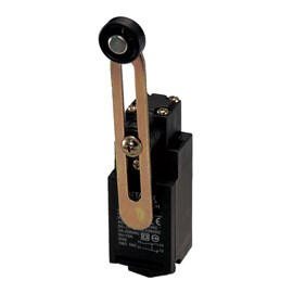 Chave de Fim de Curso FM9208 1NA + 1NF com Rolete Alavanca Ajustável Metaltex