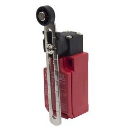Chave de Segurança 2NF+1NA FS9508 com Roldana Ajustável Metaltex