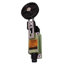 Chave Fim de Curso FM8108E 1NA+1NF com Rolete 50mm Ajustável Metaltex