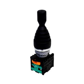 Chave Manipuladora TN2MR2L-2A 22mm IP65 2 Posições com Trava Metaltex