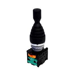 Chave Manipuladora TN2MR2R-2A 22mm IP65 2 Posições com Retorno Metaltex