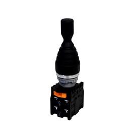 Chave Manipuladora TN2MR4L-4A 22mm IP65 4 Posições com Trava Metaltex
