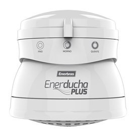 Chuveiro 3 Temperaturas Enerducha Plus Branco 5400W 127V Enerbras