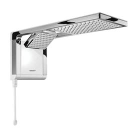 Chuveiro Eletrônico Acqua Duo Ultra Branco com Cromado 7800W 220V Lorenzetti