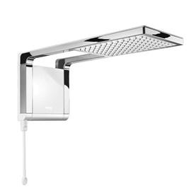 Chuveiro Eletrônico Acqua Storm Ultra Branco com Cromado 7800W 220V Lorenzetti