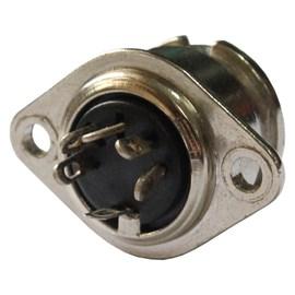Conector Circular Fêmea 5 vias 5A Metaltex