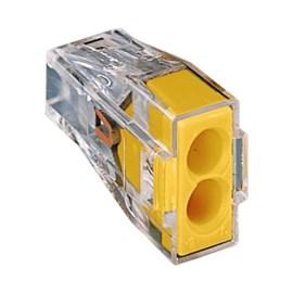 Conector Emenda Bipolar 773-102 Transparente 4 Peças Wago