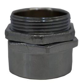 Conector Macho Girat.Cmgr-F 1.1/2' Latao Zinc. Indel