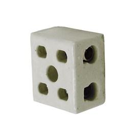 Conector Múltiplo de Porcelana 16mm Bipolar Foxlux