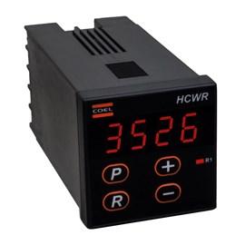 Contador de Pulso Digital Embutir HCWR 48x48mm 110/220VCA 4 Dígitos Coel
