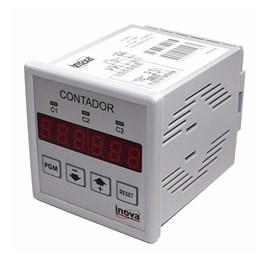 Contador de Pulso Digital Embutir INV-9702 85-250VCA Inova