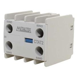 Contato Auxiliar Frontal CTAT2-20M 2NA Metaltex