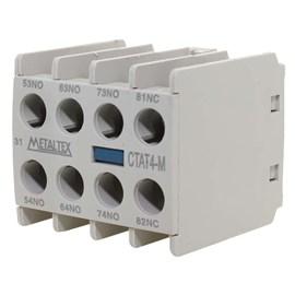 Contator Auxiliar Frontal CTAT4-31M 16A 3NA+1NF Metaltex