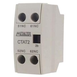 Contator Auxiliar Tripolar Frontal CTAT2-20 16A 2NA Metaltex