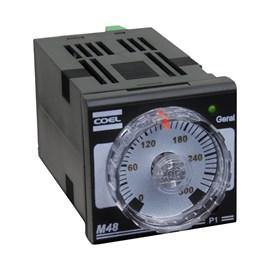 Controlador de Temperatura Analógico M48WR 24-240VAC Coel