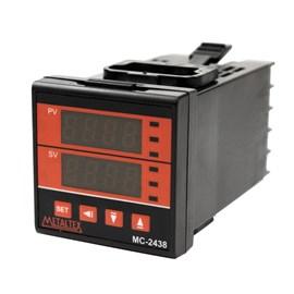 Controlador de Temperatura Digital MC2438-202-000-UA 1SSR 2AL 85-264VCA Metaltex
