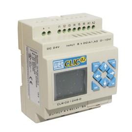 Controlador Programável CLP 24V 4 Saídas Para Relé Weg