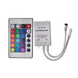Controle Remoto para Fita LED RGB com Controlador Eletrorastro