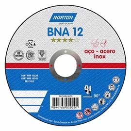 Disco de Corte Aço Inox 115x1,0x22,23mm Norton