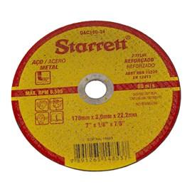 Disco de Corte de Aço Starrett