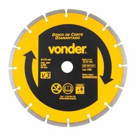 Disco Diamantado 230mm Vonder