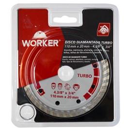 Disco Diamantado Turbo 110mm Worker