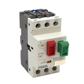 Disjuntor Motor 6 - 10A DM1-10A Metaltex