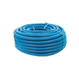 "Eletroduto Corrugado 32mm 1"" Azul 50m Condusflex"