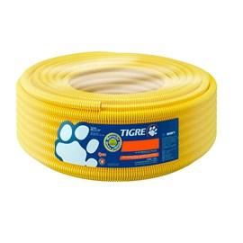 "Eletroduto Corrugado Tigreflex 20mm 1/2"" Amarelo 50m Tigre"