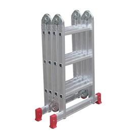 Escada Articulada 12 Degraus 150Kg Botafogo