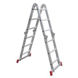 Escada Articulada 16 Degraus 150Kg Botafogo