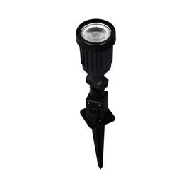 Espeto de Jardim LED 7W Luz Branco Frio Bivolt IP65 Preto Luminatti