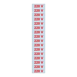 Etiqueta Adesiva 5x25 220V Sinalize