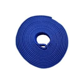 Fecho De Contato Adesivo Slim 3 Metros 20mm Azul Rohdina