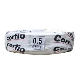 Fio Paralelo 0,5mm 100m Branco Corfio/Cobrecom/PW