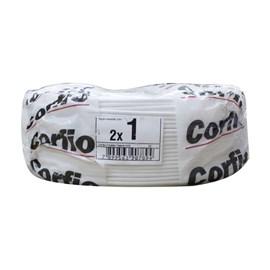Fio Paralelo 1,00mm 100m Branco Corfio/Cobrecom/PW