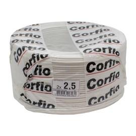 Fio Paralelo 2,50MM 100M Branco Corfio/Cobrecom