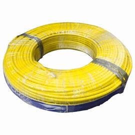 Fio Rígido 10mm 100m Amarelo 750V Corfio/Cobrecom
