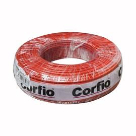 Fio Rígido 10mm 100m Vermelho 750V Corfio/Cobrecom