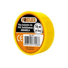 Fita Isolante 10m Amarela Foxlux