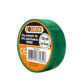 Fita Isolante 10m Verde Foxlux