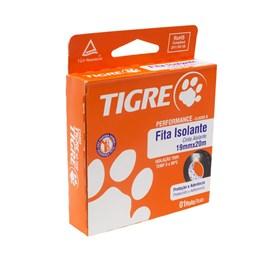 Fita Isolante 20m Preta Tigre