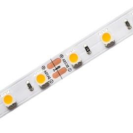 Fita Led 12v Eco 10w/M Branco Quente 700lm/M Ip20 Rolo 5 Metros Stella